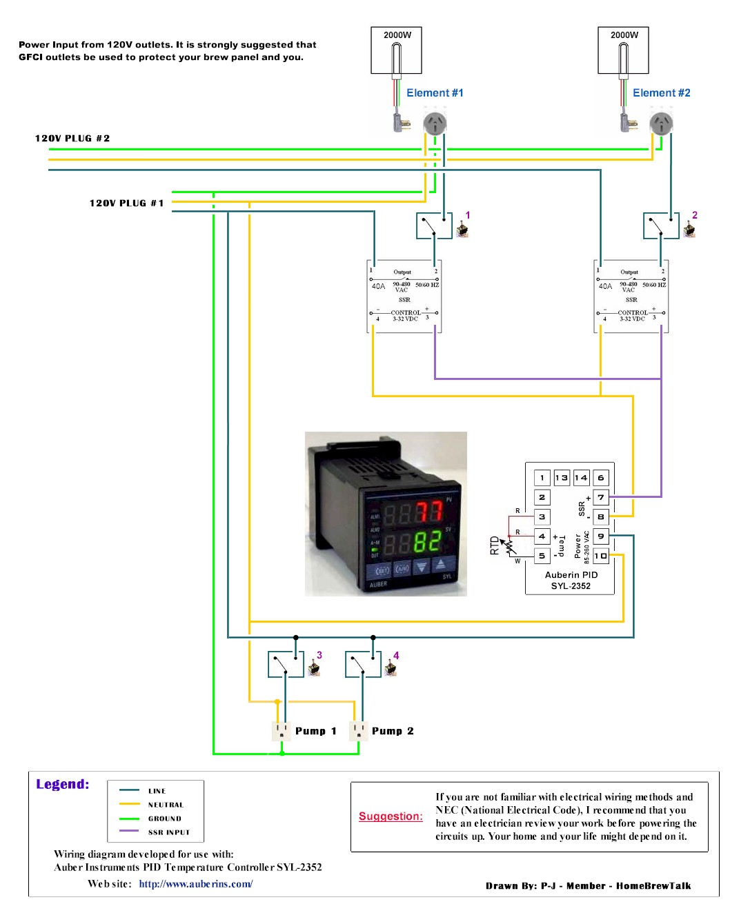 Braumeister Nextgen Build Page 73 Aussie Home Brewer Wire 240v Electric Brew Pot Controller Forums Auberin Wiring1 A4 Simple 1