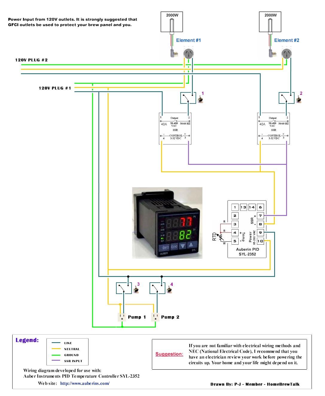 Got A Rims Rocketnow I Need Help Aussie Home Brewer Leviton Phone Jack Wiring Diagram Http Wwwebaycom Itm Auberin Wiring1 A4 Simple 1