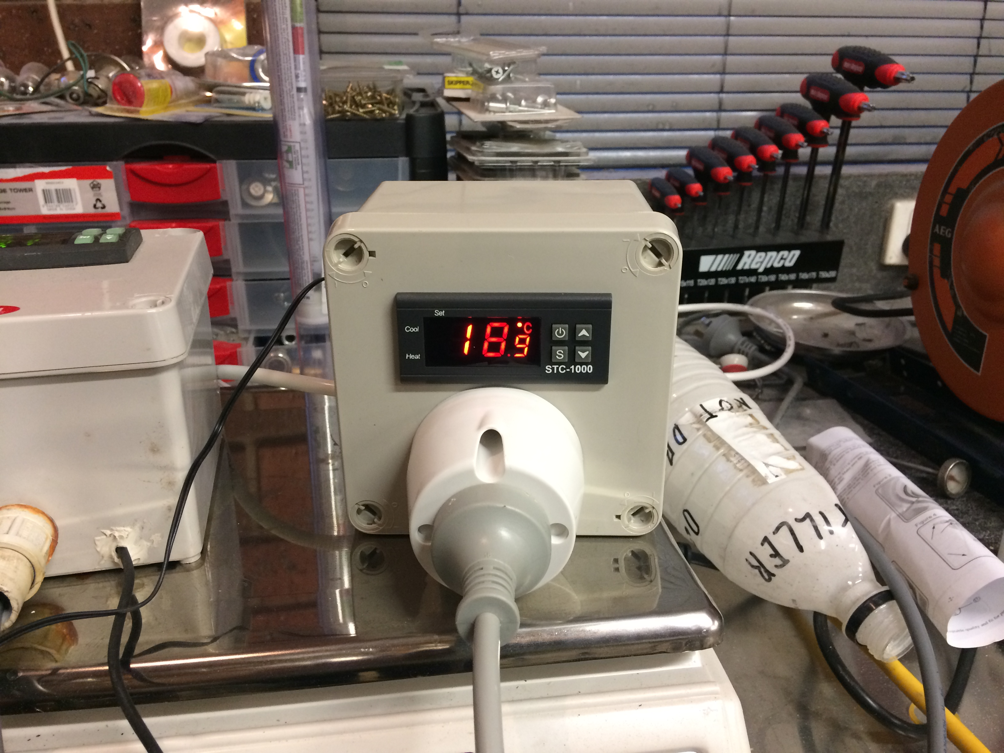 New To Brewing Got Question Stc1000 Fridge Problem Aussie Home Brewer Diy Homebrew Project Dual Stage Temperature Controller C8db750b 0dc6 46fa 9343 5901a55a1a42jpeg