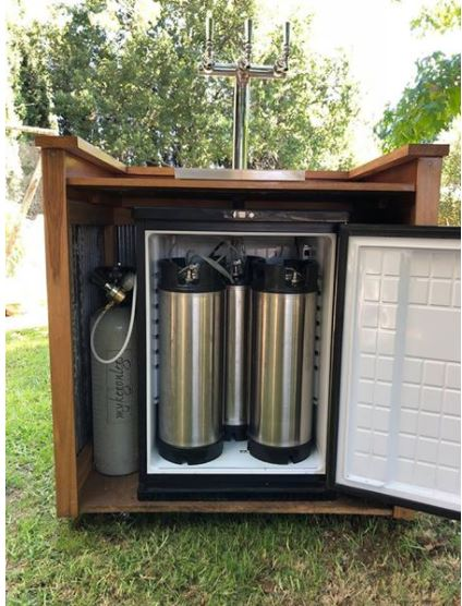 3 Tap flooded Andale mobile bar | Aussie Home Brewer