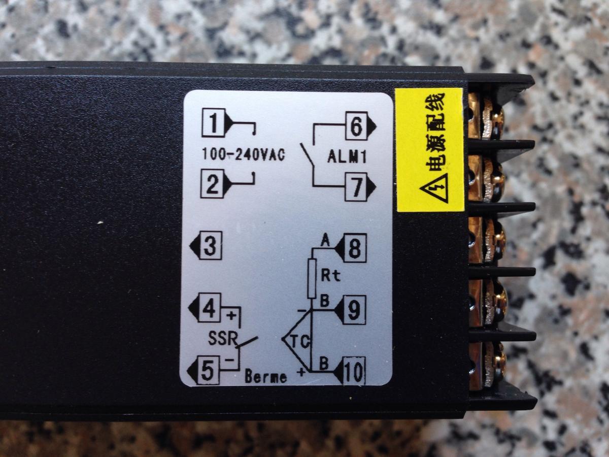 Diy Control Panel Aussie Home Brewer Auber Pid Wiring Diagram Image